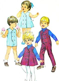 1960s Simplicity 8017 Toddler Girls Dress Childrens by paneenjerez, $10.00