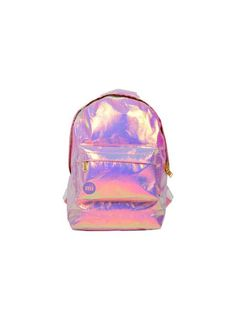 PINK AND PURPLE HOLO BACKPACK