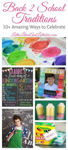 10  Amazing Back To School Traditions for Families