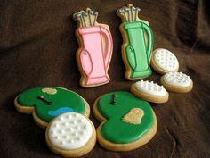 golf cookies!