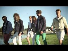 Modern Leisure - Young feeling  Bright Young Things - Brooks Brothers Red Fleece Spring 2013 - YouTube