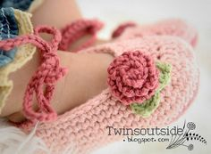 Adorable baby shoes...