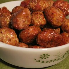 Easy Ham Balls Recipe. These are super moist and sweet -- just like Grandma used to make!