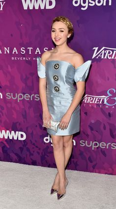 Actress Peyton List attends the 2nd Annual StyleMaker Awards hostd by Variety and WWD at Quixote Studios West Hollywood on November 17, 2016 in West Hollywood, California.