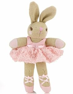 2nd Floor / Sitting On The White And Gold Bench, In The Third Room Of The Cherise Young Girl's Studio Dressing Room / Monsoon Bunny Ballerina