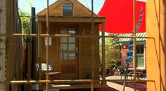 Micro Community Concepts' Michael Withey says communities of tiny houses could answer the question of low-income housing.