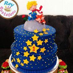 Little prince cake JL 1st Birthday Boy Themes, Prince Birthday Party, Baby Birthday, First Birthday Parties, Elmo Party, Baby Party, Baby Shower Parties, Little Prince Party, The Little Prince
