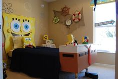 Spongebob room.