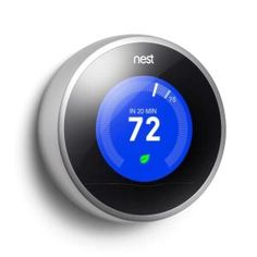 Nest Learning Thermostat - 2nd Generation-T200577 at The Home Depot