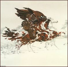 Bev Doolittle I found this print at goodwill for 4.99 she is the best