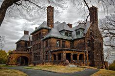 The Hill House on the Hill by Doug Heimstead  (James J. Hill House - St. Paul, MN)