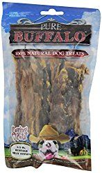 Loving Pets Pure Buffalo Jerky Strips Dog Treat, 3-1/2 -Ounce