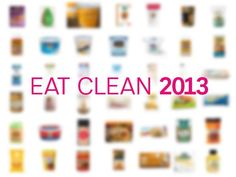 100 Cleanest Packaged Food Awards 2013 from Prevention Magazine - breakfast, lunch, dinner, snacks, pantry items ----> Fascinating!