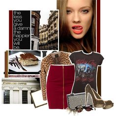 I'm with the CRUE :)) ♥, created by gagarose on Polyvore