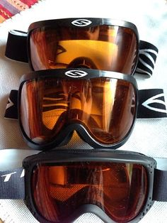 Set Of Three Smith Ski Goggles 2 Adults 1 Youths $20