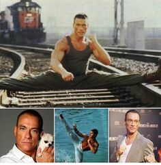 Jean-Claude Van Damme ~  Born Jean-Claude Camille François Van Varenberg 18 October 1960 (age 55) in Sint-Agatha-Berchem, Brussels, Belgium. Belgian martial artist, actor, and director best known for his martial arts action films. The most successful of these films include Bloodsport (1988), Kickboxer (1989), Universal Soldier (1992), Hard Target (1993), Street Fighter (1994), Timecop (1994), Sudden Death (1995), JCVD (2008) and The Expendables 2 (2012).