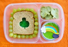 Kitchen Fun With My 3 Sons: St. Patrick's Day Bento Lunch