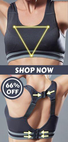 Wireless Yoga Shockproof Hollow Back Adjustable Sports Bras  bras  sports   yoga  wireless 650a8c8320