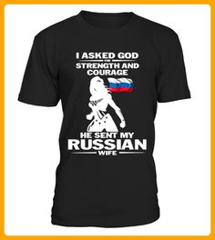 HE SENT MY RUSIAN WIFE - Shirts für paare (*Partner-Link)