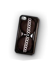 iPhone Case Chocolate Cupcake Hard Phone Case by TheCuriousCaseLLC, $18.00