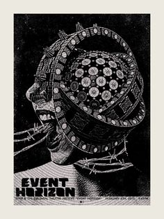 A really awesome poster for Event Horizon (1997) by Chris Garofalo
