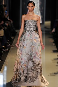#Elie_Saab Spring 2013 Couture Collection/Model: Cora Emmanuel (ELITE)