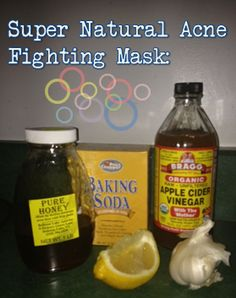 Kick acne in the butt with this super potent mask!