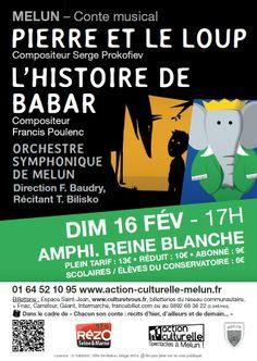 """""""Pierre et le Loup / L'Histoire de Babar"""" Saison culturelle 2013-2014 Melun / ©Mdalpra"""