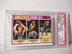 1981 Topps Larry Bird PSA NM-MT 8(OC) Basketball Card #45 NBA Collectible…