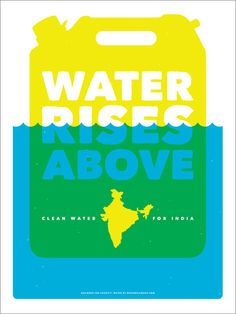 Charity: Water India-inspired Posters