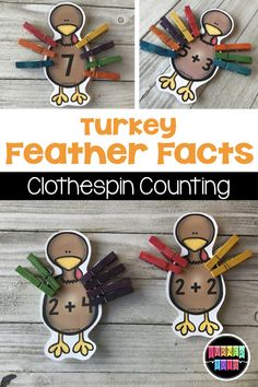 Gobble up these preschool literacy and math activities with a Thanksgiving theme! From the Mayflower to the First Thanksgiving Day, let's learn through play! Addition Activities, Pre K Activities, Preschool Learning Activities, Preschool Curriculum, Thanksgiving Activities For Kindergarten, Kindergarten Math, Fall Preschool, Preschool Math, Preschool Ideas