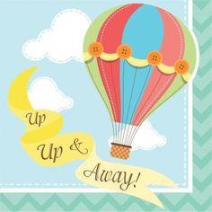Up Up Away Bevarage Napkin