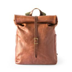 Whipping Post's Leather Roll-Top Backpack