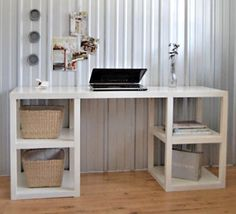 Parsons tower desk DIY project from Ana White