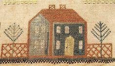 1600's house sampler