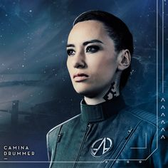 """The Expanse Character Posters - Season promo picture. """"We are creatures of space. Sci Fi Tv Shows, Sci Fi Series, Series Movies, Expanse Tv Series, The Expanse Tv, Science Fiction, Fiction Film, Warrior Within, K Om"""