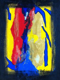 "My scattered piees by Hufreesh  | $250 | 6""w x 12""h | Original Art | http://www.vangoart.co/hufreesh/my-scattered-piees @VangoArt"