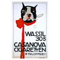 Casanova Cigarette, Boston Terrier