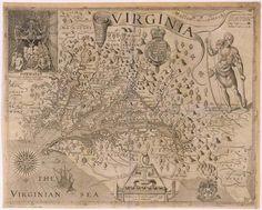Captain John Smith's description of Virginia 1606
