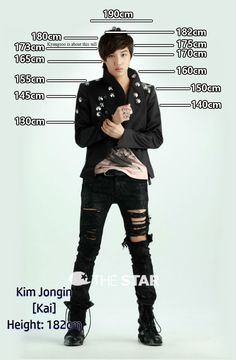 Height Chart : Kai