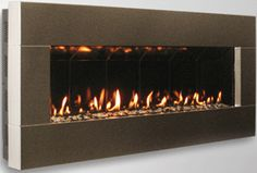 Gas Fireplaces - West End - Wall Mount Direct Vent