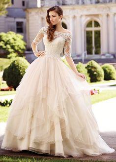 SIMPLE ELEGANCE! Size 0-20 18W-26W Mon Cheri Represenative. Heavenly Bridal Boutique in Canby. #portlandwedding #plussize #portlandbride #affordableweddingdress https://t.co/moBoViJ4No