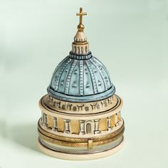 Limoges Vatican Dome Limited Edtion box