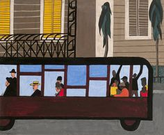 Review: 'One-Way Ticket' at MoMA Reunites Jacob Lawrence's Migration Paintings - NYTimes.com
