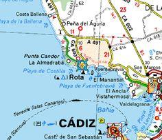 Hotel Playa De La Luz in Rota Spain We lived just down the street