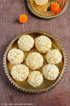 marmarala ladoo | puffed rice ladoo - low fat sweet recipe