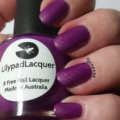 Lilypad Lacquer - Sweet Spirit Femme Fatale exclusive $18