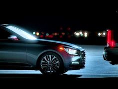 """Remember when your car couldn't stop for you? That was then. This is next. 2015 Hyundai Genesis 