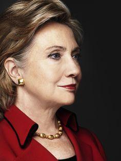 Hillary Clinton looking fierce!