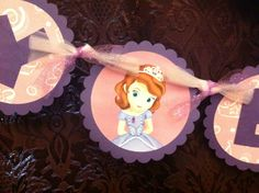READY TO SHIP  Sofia the First Banner / by GabbyCatCreations, $30.00